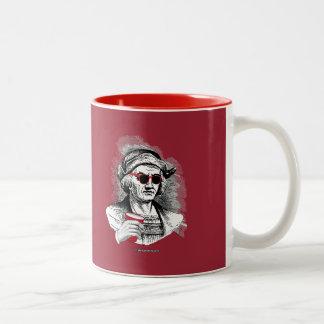 Christopher Columbus Party Animal Two-Tone Coffee Mug