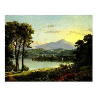 Christopher Cranch - View on the Hudson Postcard