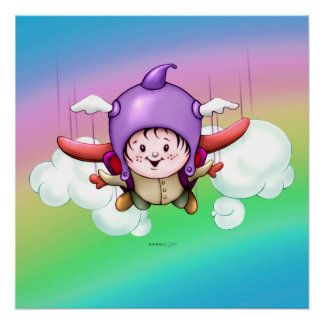 CHRISTOPHER CUTE CARTOON PERFECT POSTER