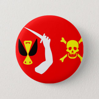Christopher Moody pirate flag 2 Inch Round Button
