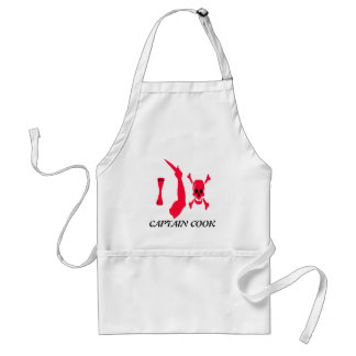 Christopher Moody-Red Standard Apron