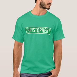 Christopher St., New York Street Sign T-Shirt
