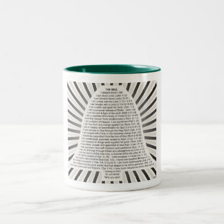 Christ's Bell Two-Tone Coffee Mug