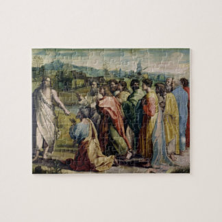 Christ's Charge to St. Peter (cartoon for the Sist Jigsaw Puzzle