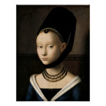 (Christus) Portrait of a Young Girl Poster