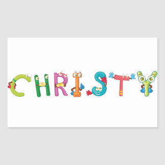Christy Sticker