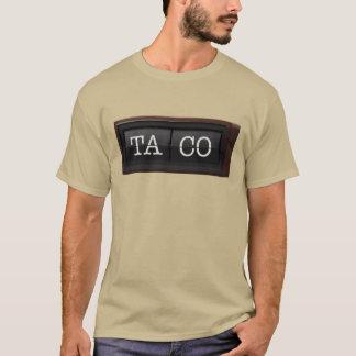 Chromatic Aberration Taco Clock T-Shirt