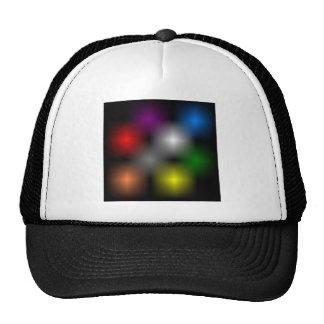 Chromatic Cube Ball Cap Trucker Hat