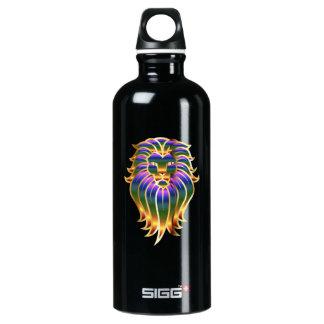 Chromatic Lion Head Water Bottle