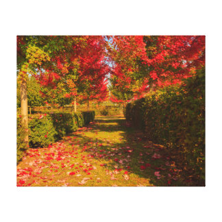 chromatic magic of the autumn on  wrapped  canvas