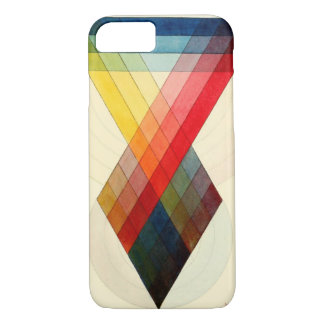 Chromatic scale chart by J. Sowerby, 1807 iPhone 7 Case