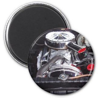 chrome 1960 impala engine magnet