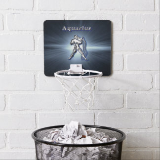 Chrome Aquarius Mini Basketball Hoop