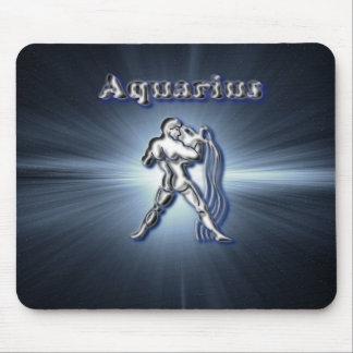 Chrome Aquarius Mouse Pad