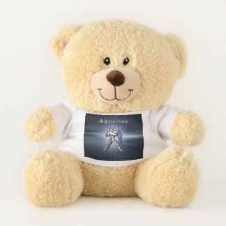 Chrome Aquarius Teddy Bear