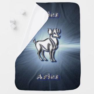 Chrome Aries Baby Blanket
