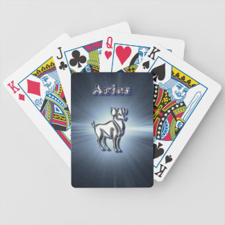 Chrome Aries Bicycle Playing Cards