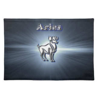 Chrome Aries Placemat
