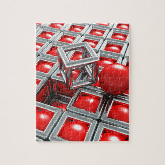 chrome balls jigsaw puzzle