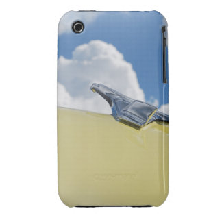 Chrome Bird Hood Ornament - Sky - Cell Case iPhone 3 Case-Mate Case