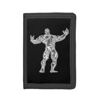 Chrome Bodybuilder Wallet