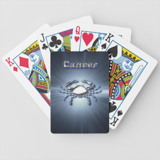 Chrome Cancer Bicycle Playing Cards