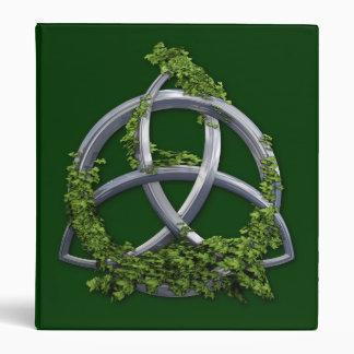 Chrome Celtic Trinity Knot Binders