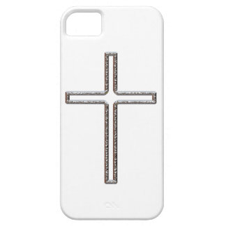 Chrome Crucifix Hollow iPhone 5 Covers