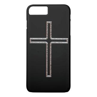 Chrome Crucifix Hollow iPhone 7 Plus Case