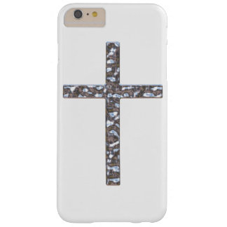 Chrome Crucifix Solid Barely There iPhone 6 Plus Case