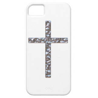 Chrome Crucifix Solid iPhone 5 Case