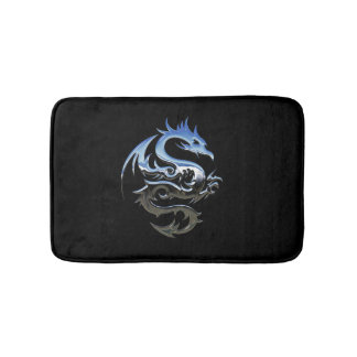 Chrome Dragon Bath Mat