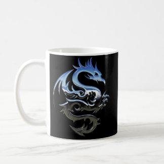 Chrome Dragon Mug