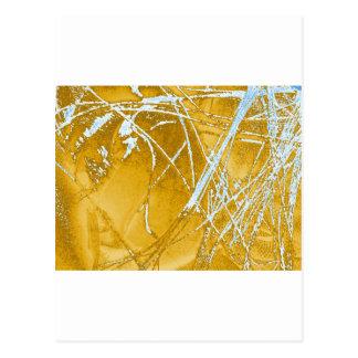 chrome fabric postcard
