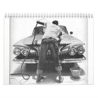 Chrome Fins & Big Cars Wall Calendars