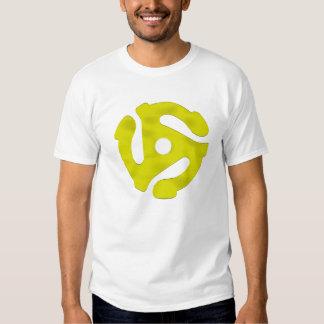 Chrome jaune de 45 t/mn t-shirts
