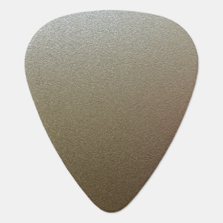 Chrome Look Guitar Pick