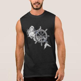 Chrome Mermaid Sleeveless T-shirt