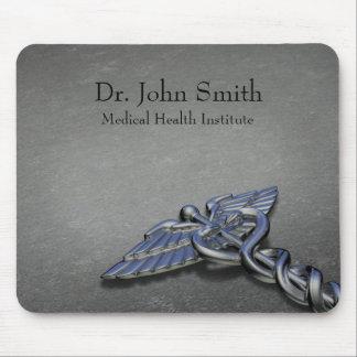 Chrome Professional Medical Caduceus - Mousepad