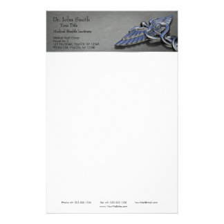 Chrome Professional Medical Caduceus - Stationery