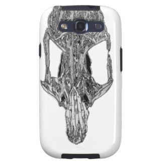 Chrome Rat Skull Galaxy S3 Case