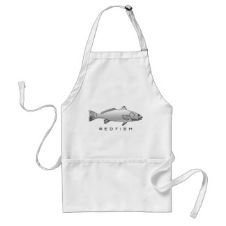 Chrome Redfish Apron