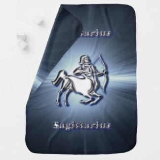 Chrome Sagittarius Baby Blanket