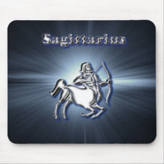 Chrome Sagittarius Mouse Pad