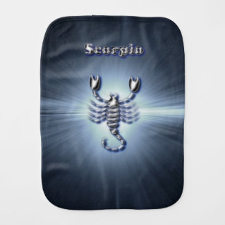 Chrome Scorpio Burp Cloth