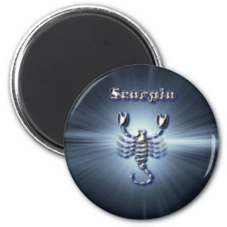 Chrome Scorpio Magnet