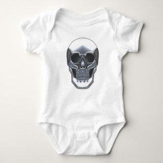Chrome Skull Baby Bodysuit