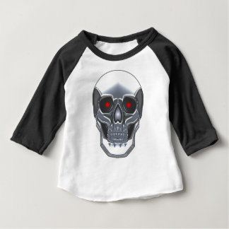Chrome Skull Baby T-Shirt