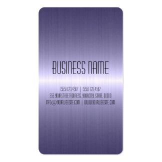 Chrome Stainless Steel Metal Business Card