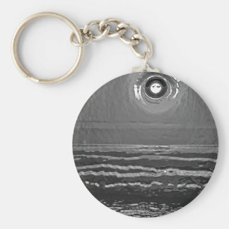 Chrome Sunset Keychain